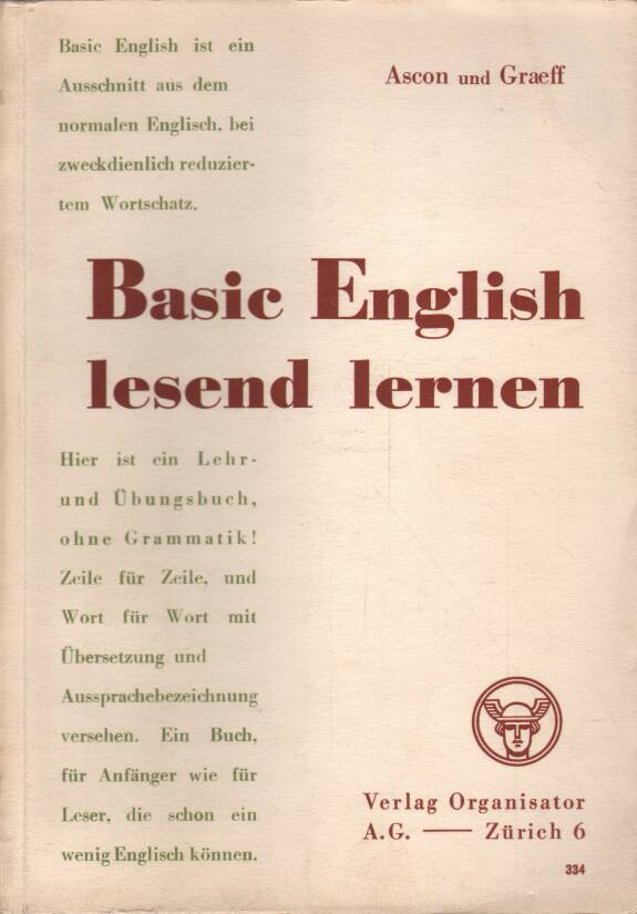 Ascon - Graeff - Basic English lesend lernen