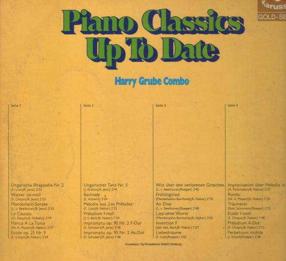 Harry Grube - Piano Classics Up To Date ilustr.1