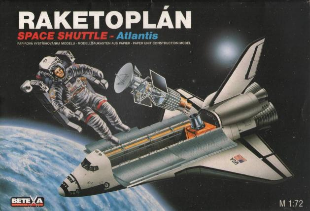 Bestr Pavel - Raketoplán Space Shuttle - Atlantis