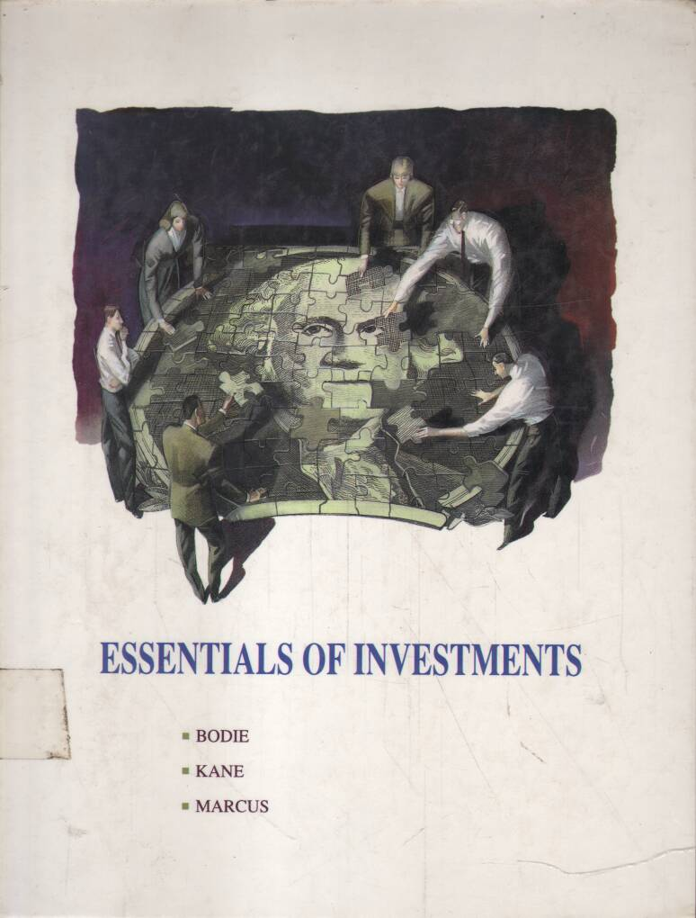 Bodie Zvi - Kane Alex - Marcus J.Alan - Essentials of Investmens