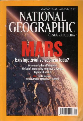 Časopis - National Geographic 2004 (1 číslol)