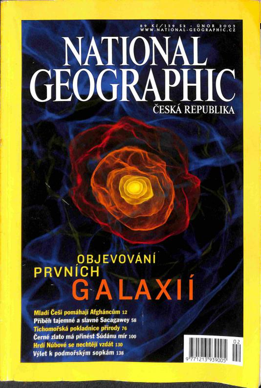 Časopis - National Geographic 2003 (4 čísla)