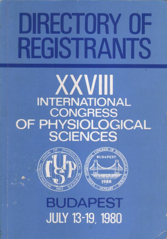 Neuvedený - XXVIII international congress of physiological sciences