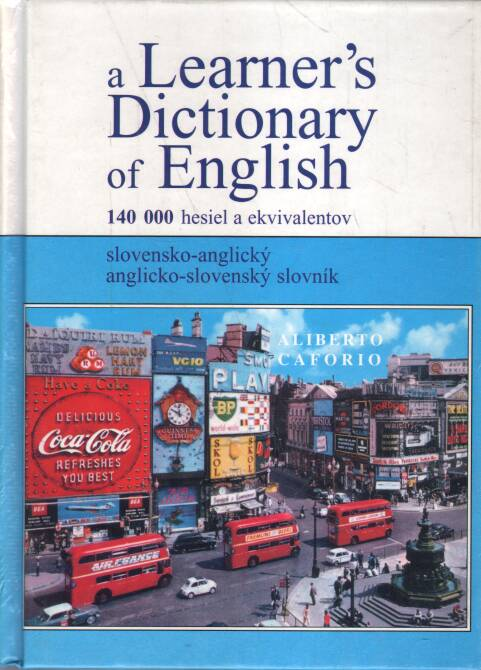 Caforio Aliberto - A Learners Dictionary of English