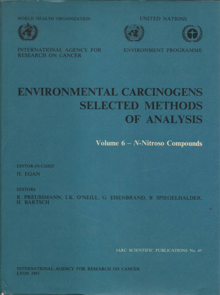 Egan H. - Environmental Carcinogens - Selected Methods of Analysis