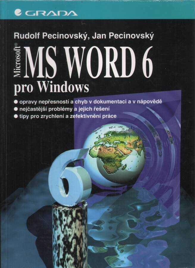 Pecinovský Rudolf - Pecinocký Jan - MS Word 6 pro Windows