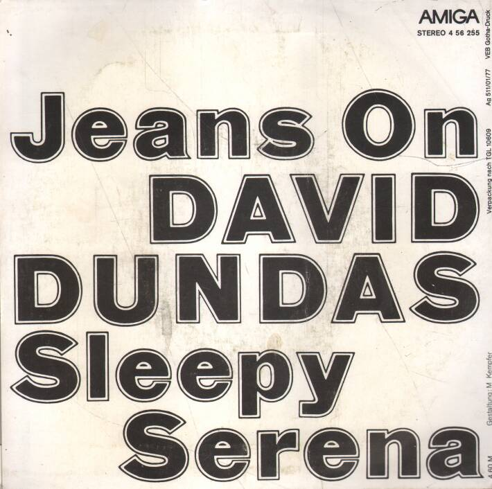 David Dundas - Jeans On - Sleepy Serena