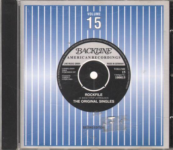 Various - Backline american recordins