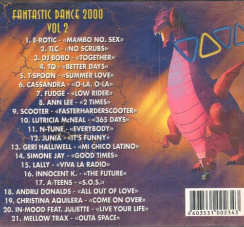 Various - Fantastic dance 2000 vol. 2 ilustr.1